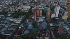 The Amazon Theatre, Manaus, Amazon, Brazil - stock footage