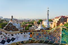 park Guell, Barcelona - stock photo