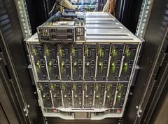 Stock Photo of server chassis