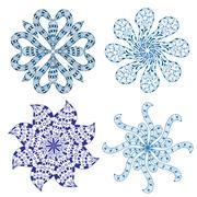 Rosette ornament Stock Illustration