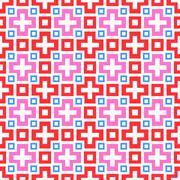 Abstract vivid seamless pattern.  illustration - stock illustration