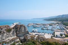 Forse cercavi: Veduta del porto turistico di tropea Calabria Italia.View of t Stock Photos