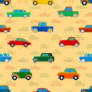 Stock Illustration of wallpaper of cars.