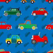 Wallpaper of cars. Stock Illustration