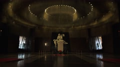 The Museum of the Great Patriotic War in Park Pobedy, Moscow, Russia. Stock Footage