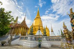 Temple of the Emerald Buddha, Stock Photos