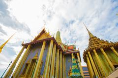 Wat Phra Kaew, Temple of the Emerald Buddha Stock Photos