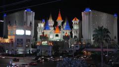 Las Vegas Excalibur Hotel Arkistovideo