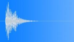 Bubble Drum UI Button 3 Deep  - sound effect