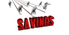 Better Savings - stock illustration