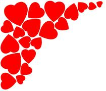 Stock Illustration of Heart for Valentines Day Background