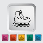 Stock Illustration of Roller skate