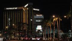 Mandalay Bay Hotel & Casino Las Vegas Stock Footage