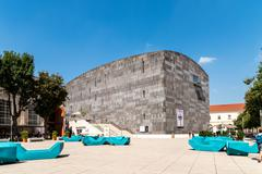 Mumok (Museum Moderner Kunst) Museum of Modern Art In Vienna - stock photo