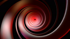 Red swirl neon Stock Footage