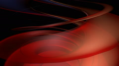 Red helix moving Stock Footage