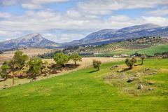 Andalusia Landscape in Spain Stock Photos