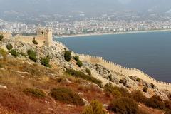 City walls in Turkey Stock Photos