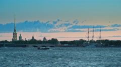 Peter and Paul Fortress, Saint Petersburg. Stock Footage