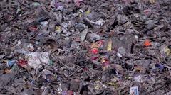 Urban garbage dump. Stock Footage