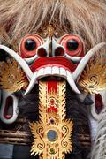 Rangda spirit - demon queen of Bali island Stock Photos