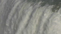 Close up of Gullfoss Waterfall in Iceland Stock Footage