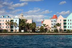 Paradise Island, Nassau, Bahamas - stock photo
