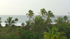 Gorgeous tropical ocean scene Stock Footage