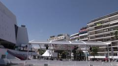 Palais des festivals, cannes Stock Footage