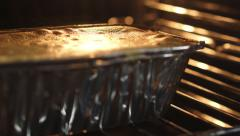 Baking closeup time lapse video Stock Footage