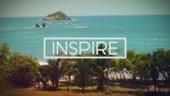 Inspire Slideshow - Modern Motion Design Photo & Text Display Gallery Transition - stock after effects