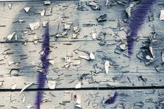 Background texture of weathered and grungy noticeboard - stock photo