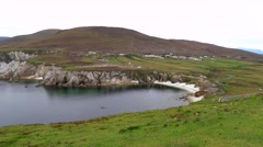 Achill Island Mayo, Ireland Stock Footage