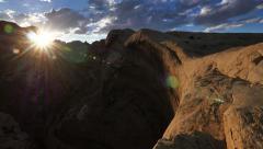Black Dragon Canyon San Rafael Reef Canyonlands Utah Stock Footage