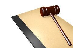 Legal documents concept Stock Illustration