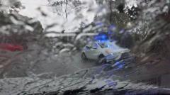Storm Damage Extreme Rain Heavy Rain Stock Footage