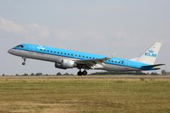 KLM Cityhopper - stock photo