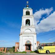 Holy Trinity Church in the village Karacharovo near Murom Stock Photos