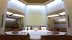 Basilica at Knock, Ireland Stock Footage