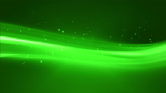 Stock Video Footage of 4k Green Streaks Light Abstract Animation Background Seamless Loop.