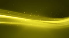 4k Yellow Streaks Light Abstract Animation Background Seamless Loop. - stock footage