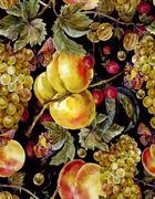 Stock Illustration of Autumn harvest watercolor seamless pattern