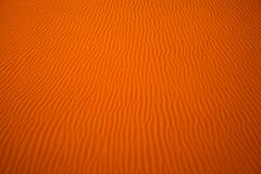 Wind created patterns in the sand dunes of Liwa oasis, United Arab Emirates Stock Photos