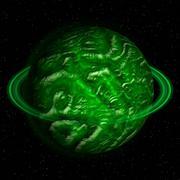 Alien Planet Stock Illustration