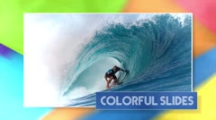 Colorful Slides - Apple Motion 5 and Final Cut Pro X Template - stock after effects