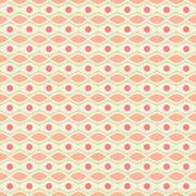 Stock Illustration of Feminine  seamless pattern