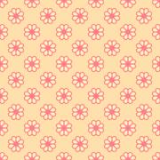 Feminine  seamless pattern Stock Illustration
