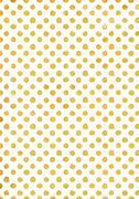 Stock Illustration of Background in gold polka dot, holiday texture