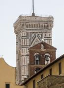 Italy,Florence, Giotto bell tower Stock Photos