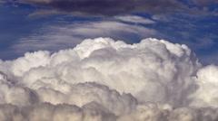 Cumulus Clouds Time Lapse Stock Footage